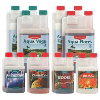 Canna Aqua Kit Starter Pack – Kit completo di fertilizzanti per la coltivazione idroponica