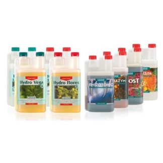 Canna Hydro Kit Starter Pack – Fertilizzanti per la coltivazione idroponica