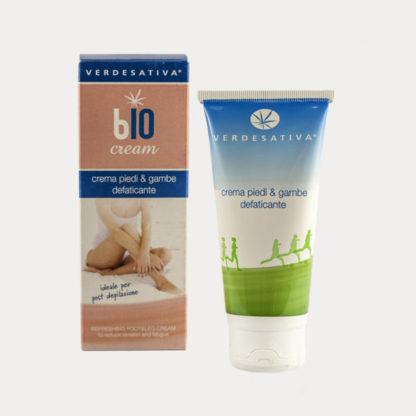 Crema Piedi e Gambe Defaticante Bio Cream Verdesativa