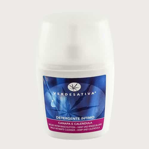 Detergente Intimo Unisex Canapa e Calendula Verdesativa