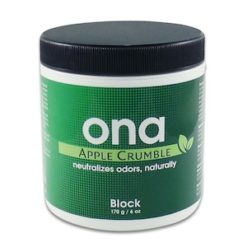 ONA BLOCK Apple Crumble 170 gr