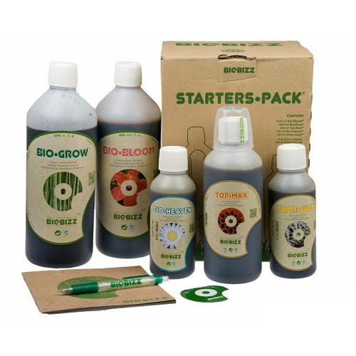 Biobizz Starters Pack Kit Fertilizzanti Organici Completo