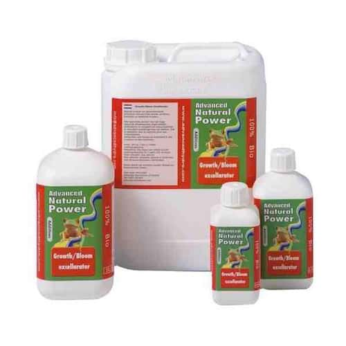 Growth Bloom NP Excellarator Natural Power Crescita Fioritura Advanced Hydroponics Booster