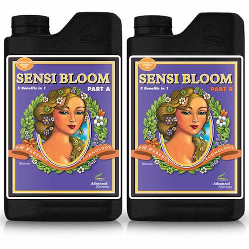 Sensi Bloom A+B pH Perfect Advanced Nutrients fertilizzante in 2 parti per una fioritura completa