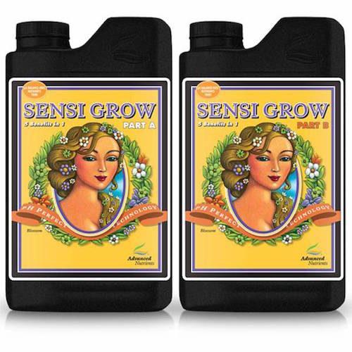 Sensi Grow pH Perfect A-B Advanced Nutrients Fertilizzante bicomponente per una fase vegetativa vigorosa