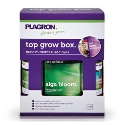 Top Grow Box Alga 100% Bio Kit Fertilizzanti Plagron