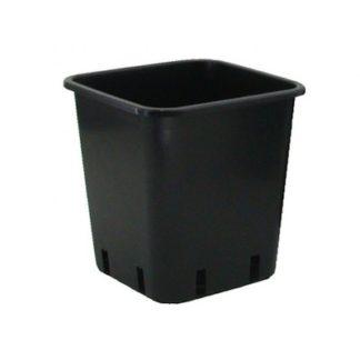 Vaso Quadrato in Plastica da Giardinaggio