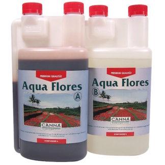 Canna Aqua Flores A+B 2x1 Lt Fertilizzanti Fase Fioritura Specifico per Idroponica