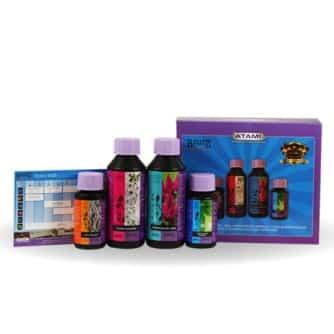 Atami B'Cuzz Hydro Booster Pack - Kit Fertilizzanti Completo per Coltivazione in Idroponica