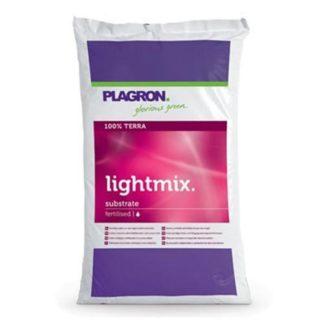 Terriccio Organico Plagron LIGHT MIX 25L con Perlite e Concime Naturale