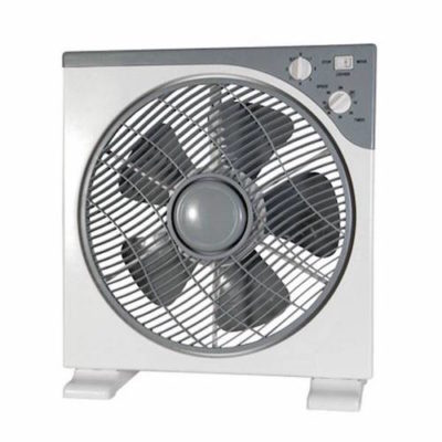 VENTILATORE BOX FAN 30 CM 3 VELOCITA'+ TIMER + COVER ROTANTE