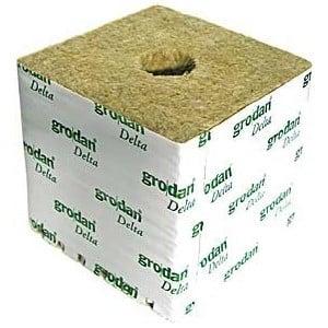 Cubetto di lana di roccia GRODAN per germinazione 4x4x4