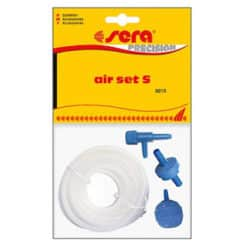 sera-air-set--s--high-quality-silicone-pipe-2mtrs---airstone--non-return-valve-and-regulator-sera