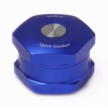 Quick Grinder V3 Blue professional growing gro shop roma