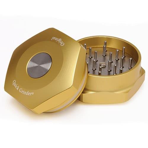Tritatabacco Original Quick Grinder Gold V.3 Macinatura Perfetta