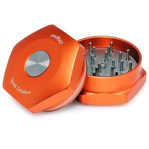 Tritatabacco Original Quick Grinder Orange V.3 Macinatura Perfetta