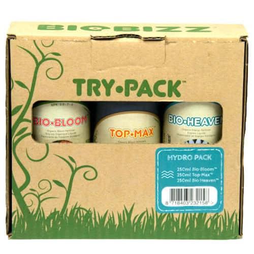 Biobizz Try Pack Hydro Fertilizzanti per la Coltivazione Idroponica