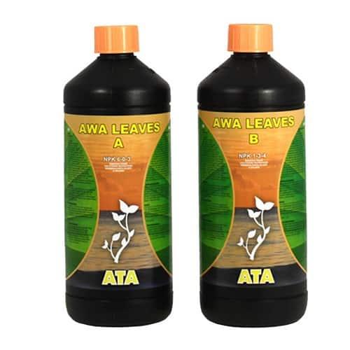ATA AWA Leaves A&B Fertilizzanti per crescita vegetativa in sistemi di ricircolo