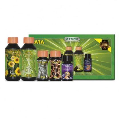 ATA Micro Kit Terra - Kit Fertilizzanti Completo per Coltivazione in Terra
