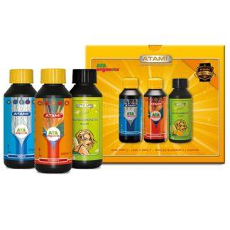 ATA Organics Booster Pack - Kit completo di fertilizzanti per fioritura e radici