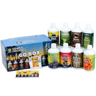 GHE General Organics GO BOX - Kit Fertilizzanti Completi Bio