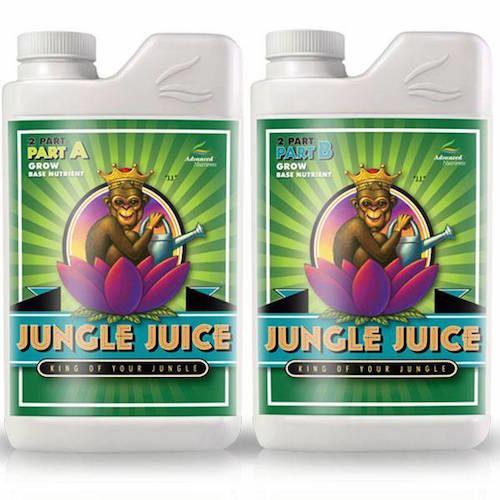 Jungle Juice Grow A-B Advanced Nutrients Fertilizzanti per Fibra di Cocco
