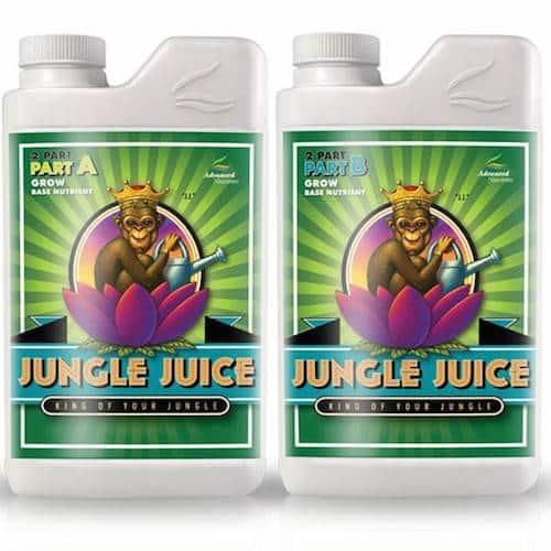 Jungle Juice Grow A+B Advanced Nutrients Fertilizzante specifico per coltivazione in fibra di Cocco