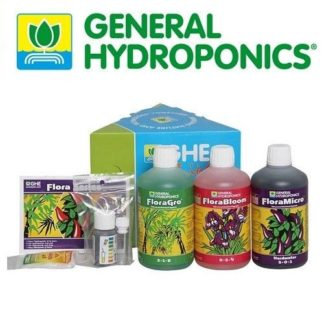 Kit GHE Flora Series SW (Soft Water) - Tripack completo per tutto il ciclo