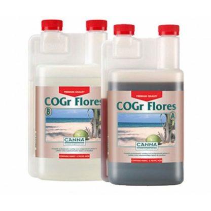 Canna COGr Flores A+B Fertilizzante per la fase di fioritura - Coltivazione Idroponica