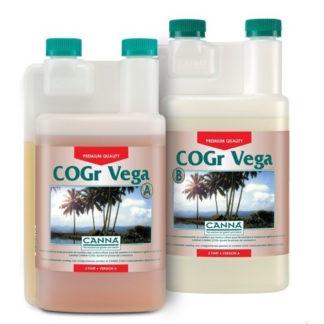 Canna COGr Vega A+B Fertilizzante specifico per la Crescita Vegetativa in Coltivazione Idroponica-Aeroponica
