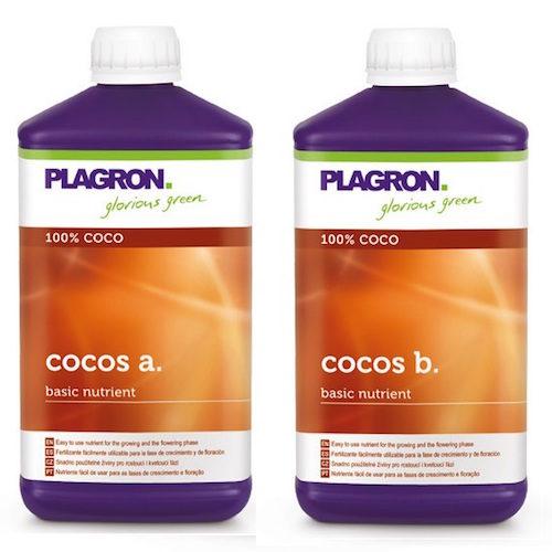 Cocos A-B Plagron 2X1L Fertilizzanti Crescita e Fioritura