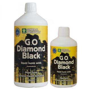 Diamond Black GHE Organics - Concime liquido a base di acidi umici