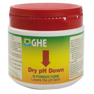 pH Down Dry GHE Regolatore di pH secco in cristalli - Puro, concentrato e inoffensivo