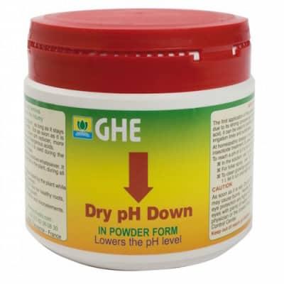 PH DOWN DRY GHE Regolatore di pH in Cristalli