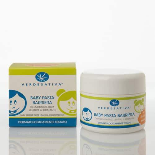 Baby Pasta Verdesativa Barriera Dermoprotettiva Lenitiva Idratante