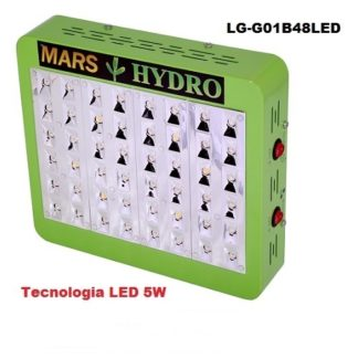 Lampade Led Coltivazione Indoor Mars Hydro 48 Led 5w
