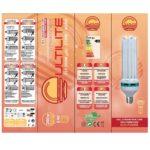 Lampada-Bulbo CFL BLOOM 150W CULTILITE G-SHOCK 2700°K Fioritura