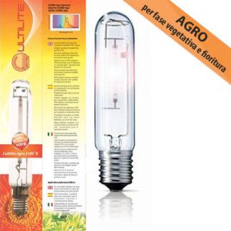 Lampada HPS AGRO Cultilite Son-T Bulbo per Coltivazione Indoor