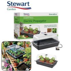 Mini Serra Riscaldata in Plastica 8W Stewart 38X24,5X19,5cm per Coltivazione Indoor-Talee-Cloni