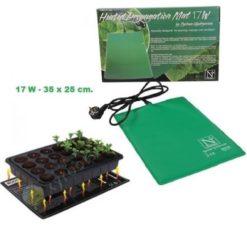 Tappetino Riscaldante 17W-35X25cm per Grow Box e Mini Serre