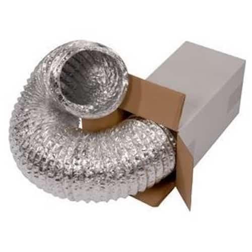 Tubo Flessibile Alluminio 315 mm-5 mt Aerazione Serre e Grow Box
