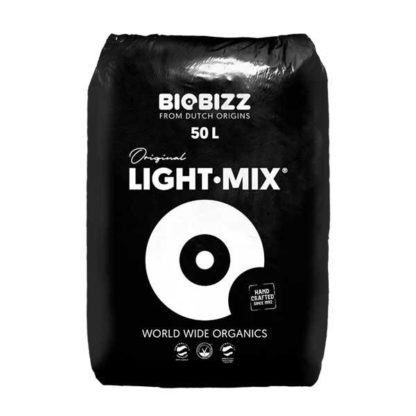 Terriccio Organico Biobizz LIGHT MIX - Terriccio biologico a pH Neutro ideale per la Coltivazione Indoor