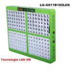 Lampade LED Coltivazione Indoor Mars Hydro 192 Led 5w Consumo 390w
