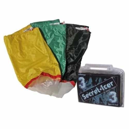 Secret Icer 3 Sacchi Ice O Lator - Setacci per l'Estrazione a Freddo di Resina e Polline