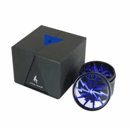 Thorinder Grinder Blue 4 parti Tritatabacco Pollinator by After Grow