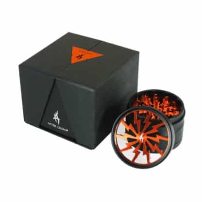 Thorinder Grinder Orange 4 parti Tritatabacco Pollinator by After Grow