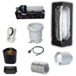 Grow Box Kit Completo Mammoth Lite 40x40x120 + CFL AGRO 125W