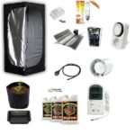 Grow Room Kit Completo Coltivazione Indoor Mammoth Lite 80 80x80x160 + HPS 150W Agro