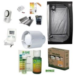 Kit Completo Grow Room Cultibox Lite 60 60x60x140+HPS AGRO 150W