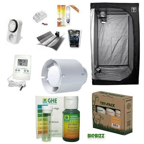 Kit Completo Grow Room Cultibox Lite 60 60x60x140+HPS AGRO 150W